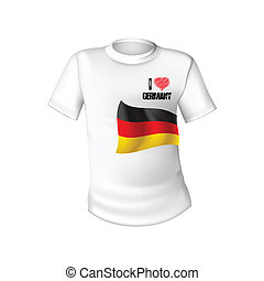 German t-shirt flag