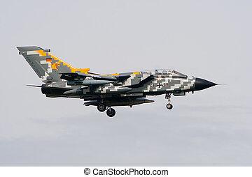 German Tornado - VOLKEL, THE NETHERLANDS - OCTOBER 4: German...