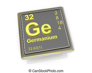 Germanium. Chemical element.