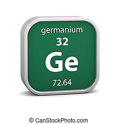 Germanium material sign