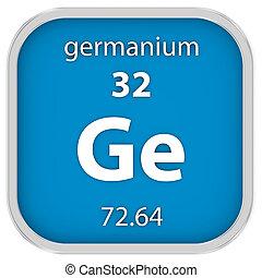 germanium, material, sinal