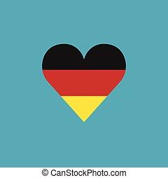 germany αδυνατίζω , εικόνα , μέσα , ένα , αγάπη αναπτύσσομαι , μέσα , διαμέρισμα , σχεδιάζω