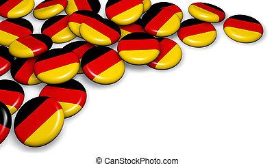 Germany Flag Badges