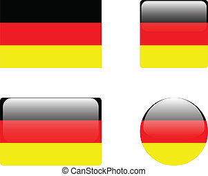Germany flag & buttons