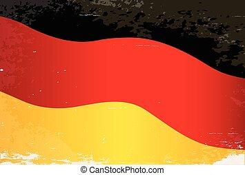 Germany Flag Grunge