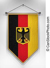 Germany Flag Pennant