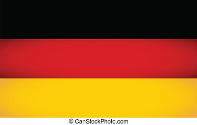 Germany Flag. Vector illustration.