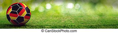 Germany football sport background