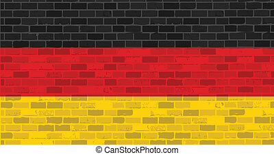 germany. german flag illustration design