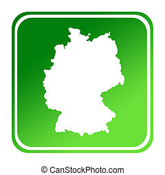 Germany green map button