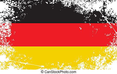 germany grunge flag