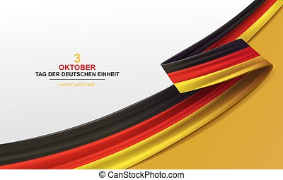 Germany Happy Unity Day