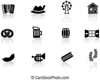 Germany icons set