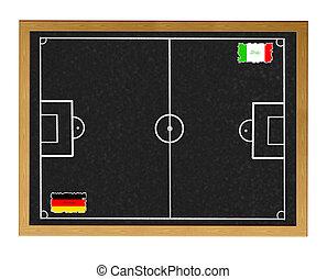 Germany - Italy.