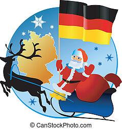 germany!, karácsony, vidám