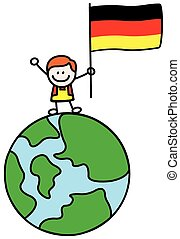Germany kid