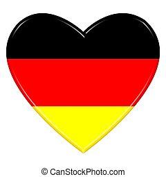 altes gemalt h lzern fahne deutschland hintergrund. Black Bedroom Furniture Sets. Home Design Ideas