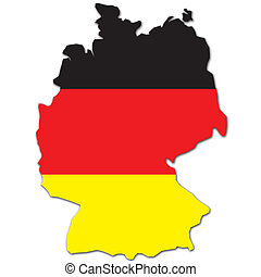 germany map illustrations and clipart 10 352 germany map royalty rh canstockphoto com germany clipart black and white germany clipart map