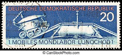 Germany vintage postage stamp