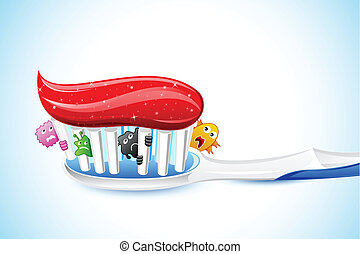 Germs in Tooth Brush