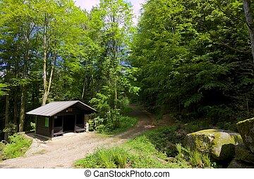 Gertelbach trail and hut