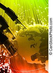 gesamt-netzwerk, kabel