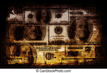 geschäftsfinanz, abstrakt