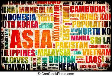geschaeftswelt, asia