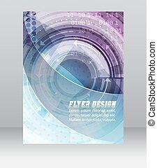 geschaeftswelt, banner, abstrakt, zeitschrift, decke, muster, flieger, design, schablone, technologisch, korporativ, oder