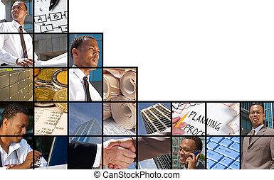 geschaeftswelt, collage