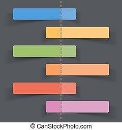 geschaeftswelt, infographic, leer, etiketten, schablone