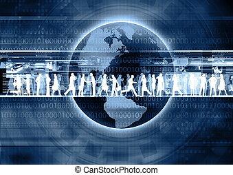 geschaeftswelt, internet