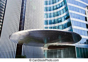 geschaeftswelt, moderne architektur