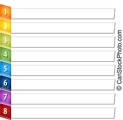 Geschaeftswelt, Posten, Neigung, abbildung, diagramm, acht,...