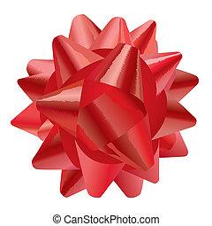 geschenk buiging, (illustration)