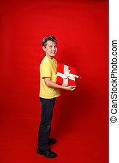 geschenk, kind