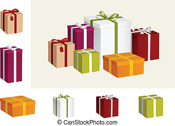 geschenk, sammlung