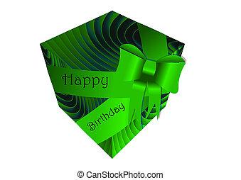 Geschenkband, Kasten - geschenkband, kasten, geburtstag