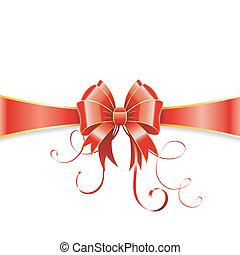 geschenkband, schleife