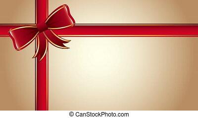 geschenkband, schleife, weihnachten, fröhlich, glücklich,...