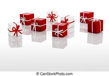 geschenke, kästen