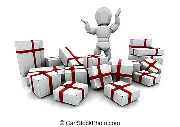 geschenke, weihnachten