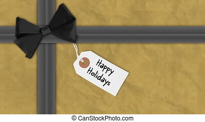 geschenkverpackung, weihnachten, festlicher