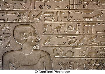 geschiedenis, van, egypte