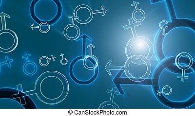 geschlecht- symbole