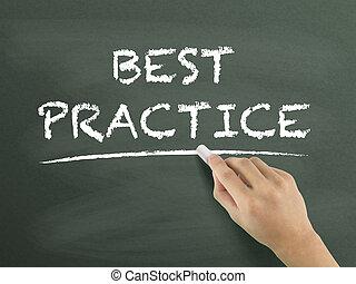 geschreven, praktijk, best, woorden, hand