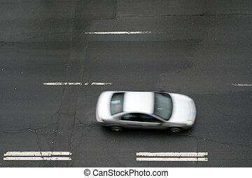 geschwindigkeitsüberschreitung, auto