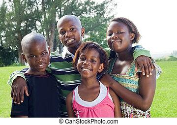 geschwister, afrikanisch