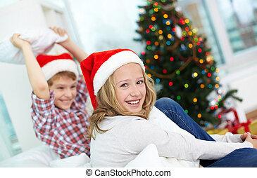 geschwister, weihnachten