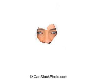 Gesicht, Mann